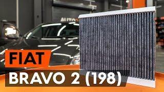 Cum se înlocuiește filtru polen / filtru habitaclu pe FIAT BRAVO 2 (198) [TUTORIAL AUTODOC]