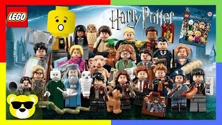 Lego Harry Potter Minifigure Sets Collection for New Fantastic Beasts Movie