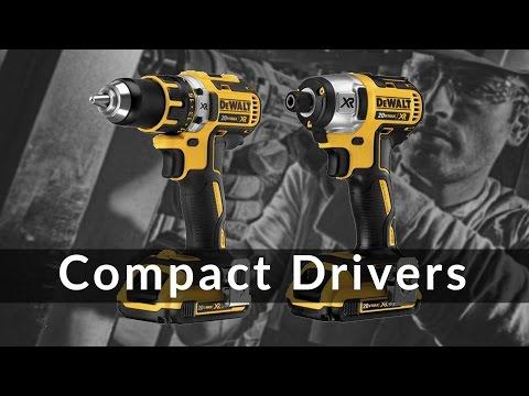 DeWalt Compact Drill Driver, Impact Driver & Accessories