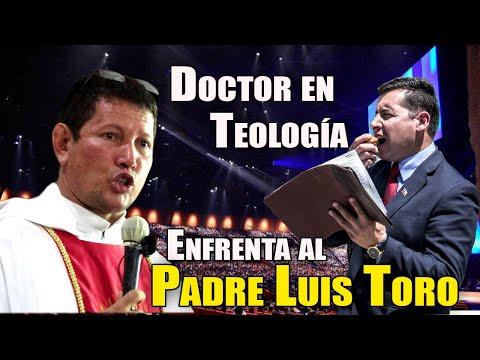 Pastor Doctor en teología trata de intimidar al PADRE LUIS TORO   ¡Imperdible!