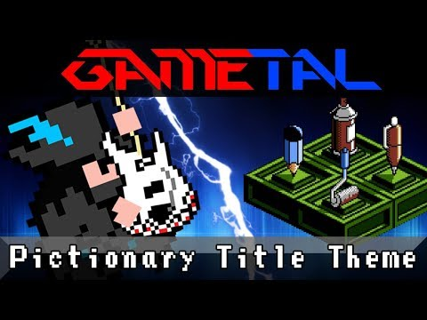 Title Theme (Pictionary NES) - GaMetal Remix