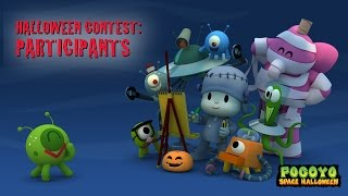 Pocoyo Halloween Contest: Aliens from Our Fans [1]