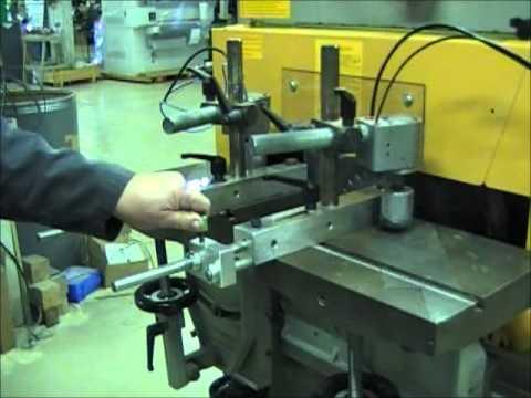 Balestrini Tenoner Setup Instructions