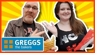 GREGGS Sausage and Bean Melt Review with Steph, Southampton, England