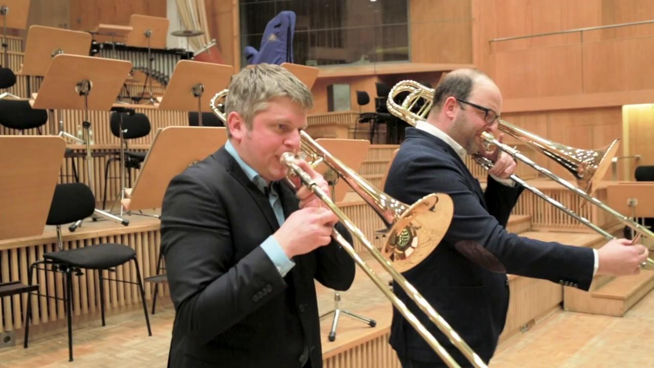 Duo Concertante with Lars Karlin & Tomer Maschkowski