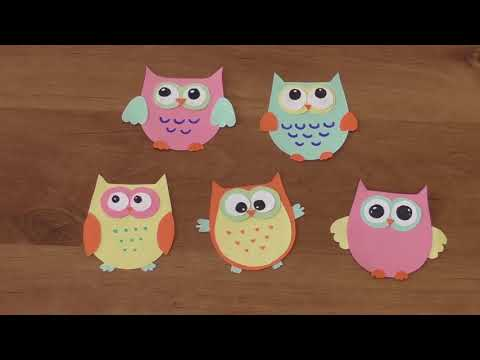 DIY: Paper Owl Bookmark. How to Make an Owl Bookmark? | In 2X60 seconds
