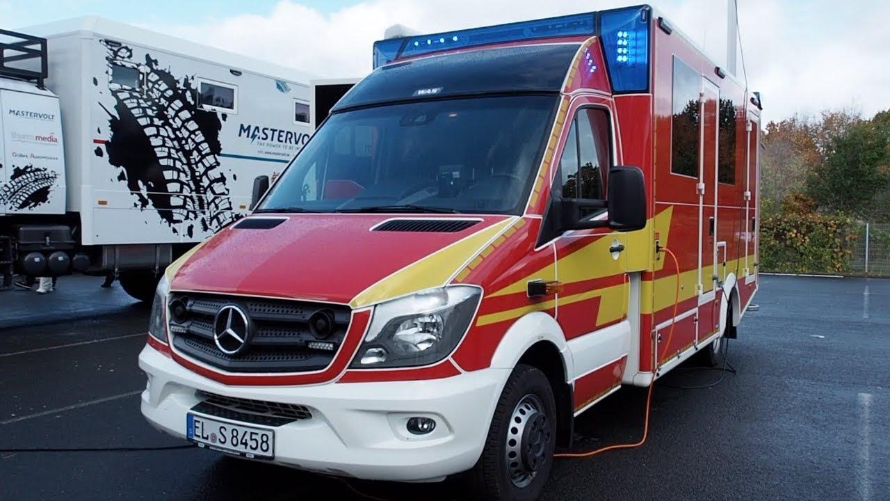 Mercedes-Benz Sprinter Ambulance 2017 In detail review walkaround Interior  Exterior