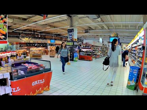 Carrefour Supermarket Warsaw Poland - Galeria Handlowa Bemowo
