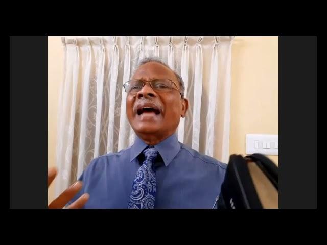 Knowing The Time   Tamil Sermon By Pastor V M Arockiasamy