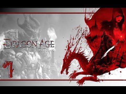 Прохождение Dragon Age: Origins - часть 1:Один дома