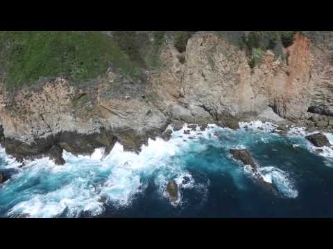 DJI drone flying in Big Sur, California 3