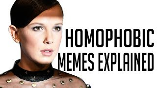 'Millie Bobby Brown Homophobic' Memes explained