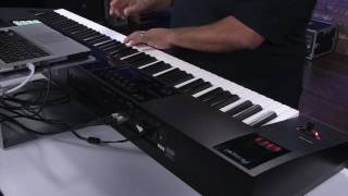 Roland FA-06/08 - How to use as midi controller with AIRA PLUGOUT and Ableton Live
