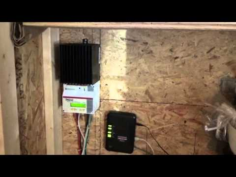 Morningstar Tristar MPPT Solar Charge Controller Survives Lightning Strike