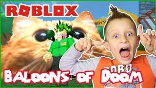 I Won At Baloons of Doom / Roblox MAD Games