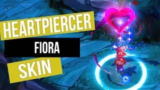 Fiora: Heartpiercer   Skin Spotlight • League Of Legends