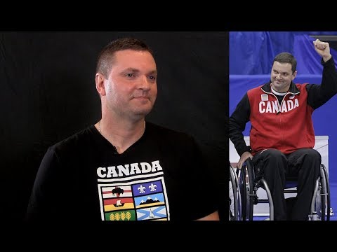 Canadian wheelchair curler Ideson says he's a better athlete sitting down