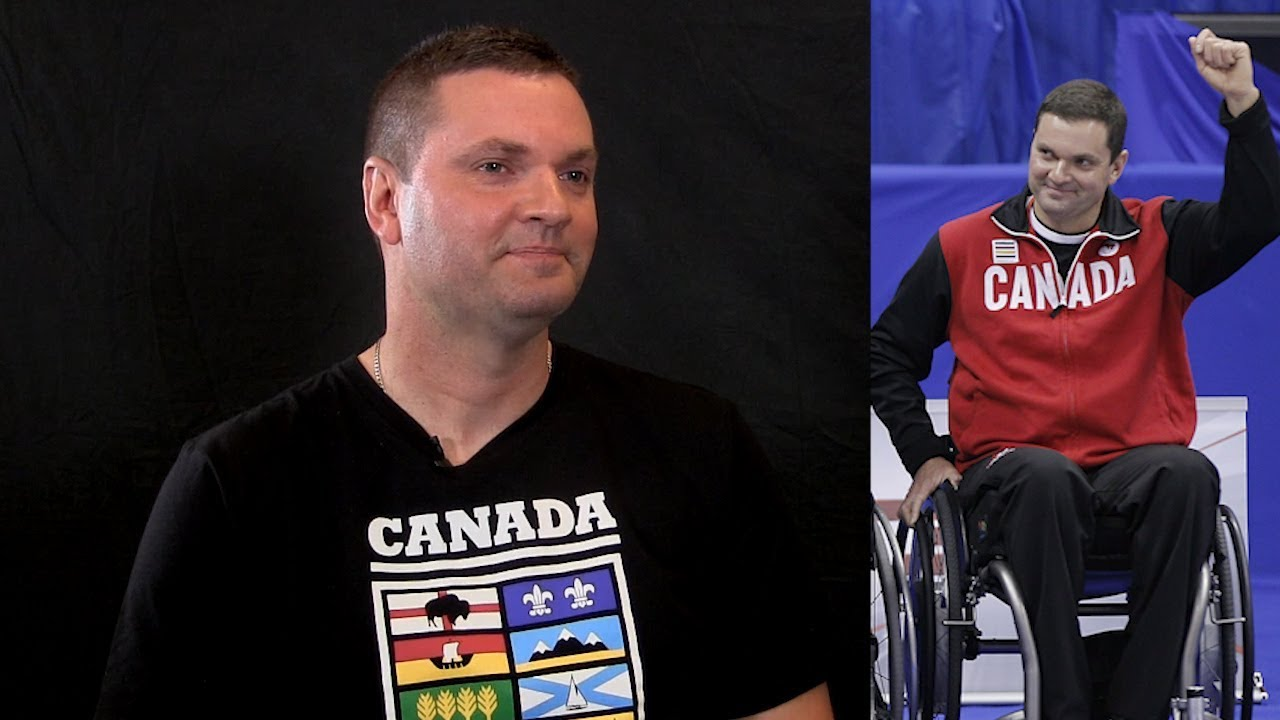 Canadian wheelchair curler Ideson says he's a better athlete sitting down #1