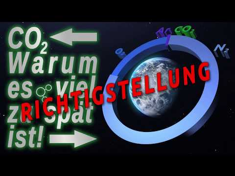 Richtigstellung CO2-Video