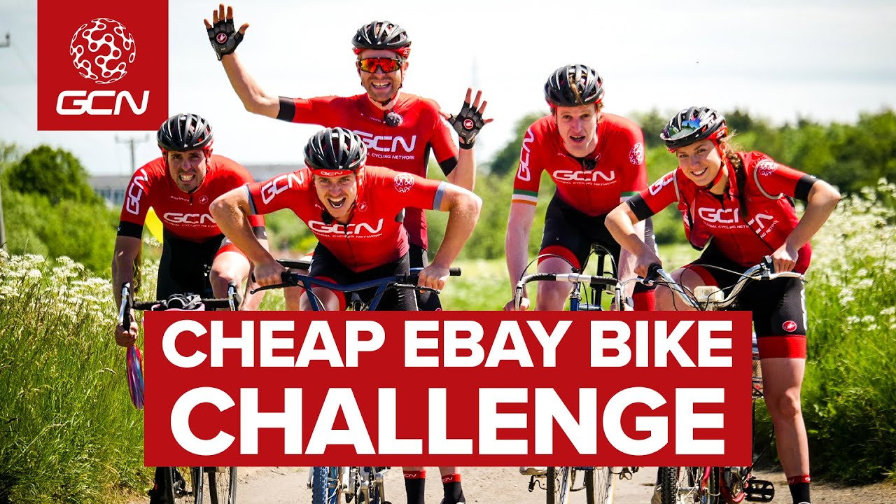 Bid For Glory!   GCN's Cheap Ebay Bike Challenge