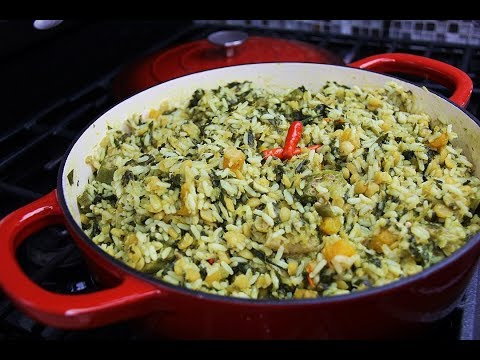 Saltfish (salted Cod) Cookup Rice | CaribbeanPot.com