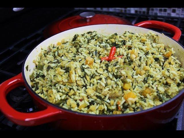 Saltfish (salted cod) Cookup Rice | CaribbeanPot.com