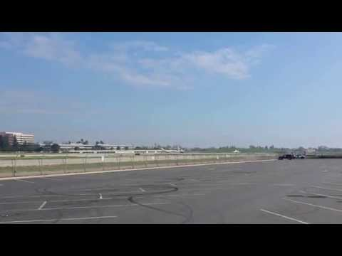 Four Jets Taking Off From Long Beach Airport