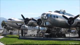 Planes of Fame Aircraft Museum Video Tour in Chino California