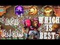 8/8 Nimble | VS | 8/8 Survival | VS | 8/8 Sacred Light |12 Skill | Anubis | Castle Clash