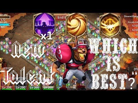 8/8 Nimble   VS   8/8 Survival   VS   8/8 Sacred Light  12 Skill   Anubis   Castle Clash