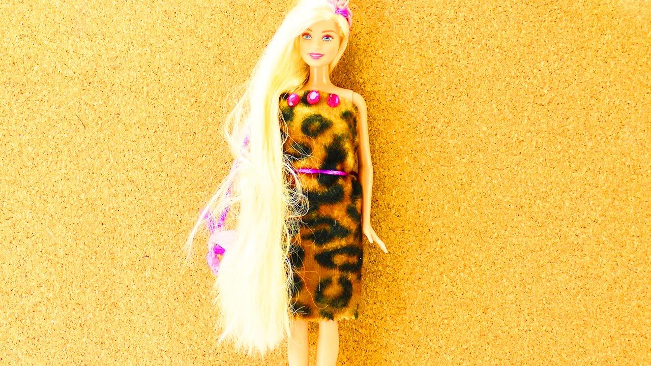 Barbie Kleid Selber Machen In 5 Minuten Cooles Outfit Für Barbie