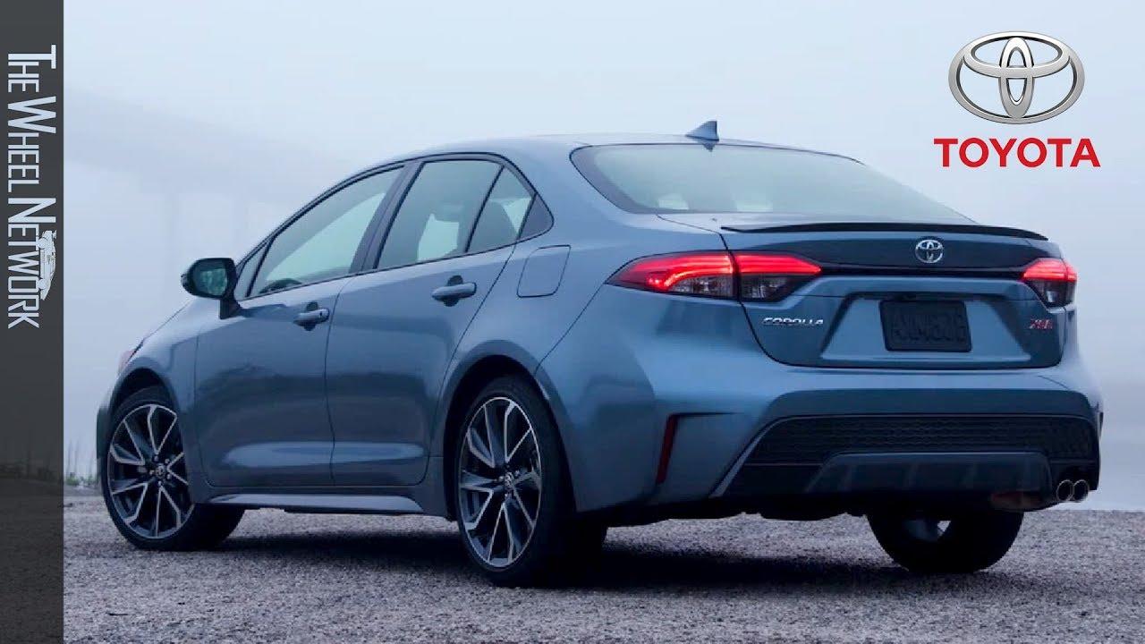 2020 Toyota Corolla Xse Celestite Exterior Interior
