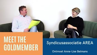 Ontmoet Anne-Lise Belmans van Syndicusassociatie AREA I Meet The Goldmember #3
