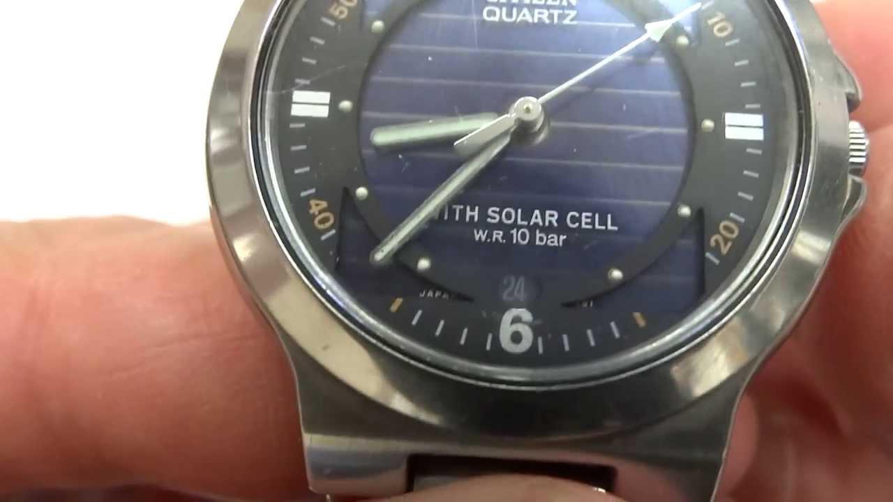 new arrival 50e6d 4fddc チタンより軽い 25年前のソーラー腕時計 CITIZEN ATTESA シチズン アテッサ