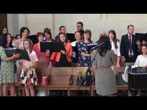 """Corul Bisericii Adventiste Grenelle """"Venim la Tine in rugaciune""""  01 septembrie 2018"""