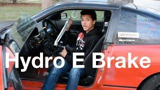 Nameless Performance Hydro E-Brake // 240sx Drift Build Episode 20