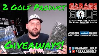 2 Golf Product Giveaways!