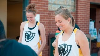 A junior on the VCU field hockey team, McKenzie Bowler navigates th...
