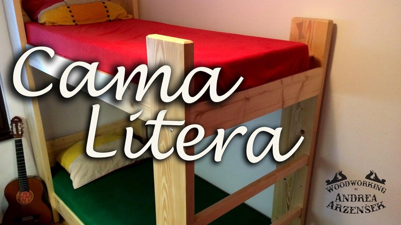 C mo hacer litera solida para tu cuarto youtube for Crear una cubierta de madera