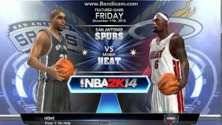 NBA 2k14 pc gameplay 1st quarter only