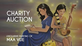 Charity Auction - Exclusive Maa Vue Painting