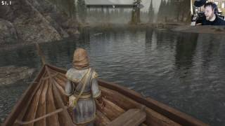 Skyrim Special Edition - Heavily Modded - Stability and Performance Test (12/5/2016)