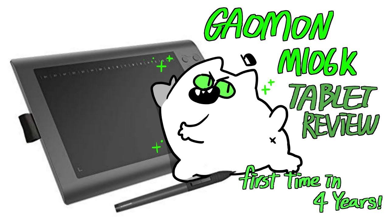 Gaomon M106k Drawing Tablet Review Speedpainting Gay