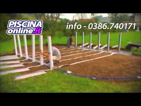 Guida montaggio e installazione piscina fuori terra - Piscine in acciaio fuori terra ...