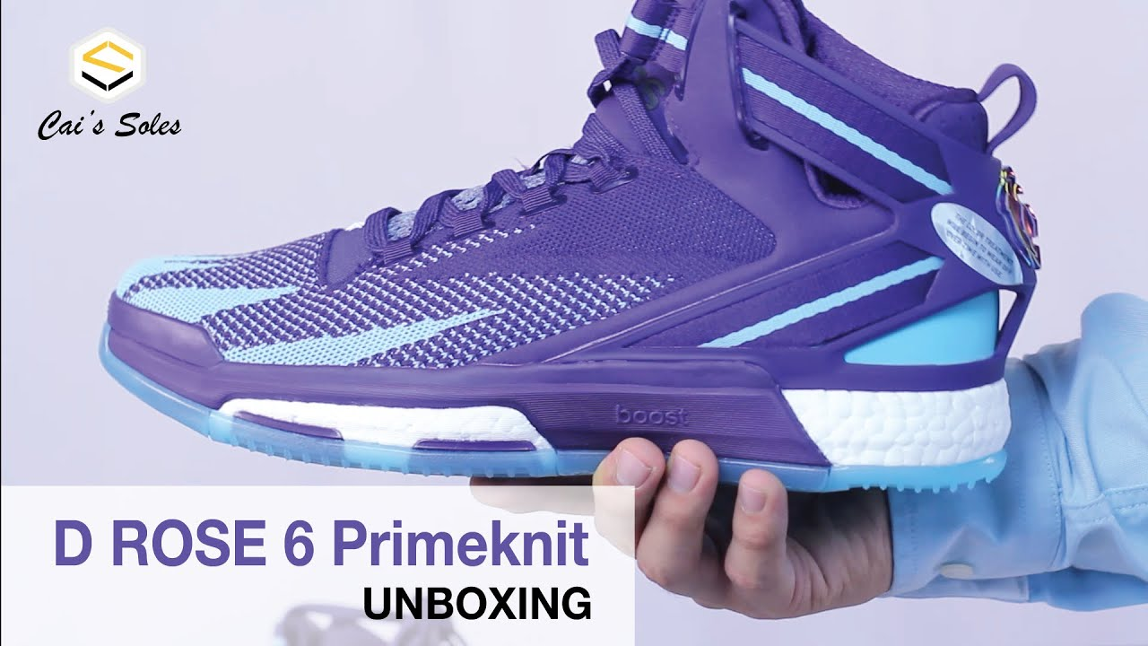 73949daa6265 Adidas D.Rose 6 Primeknit Unboxing - YouTube