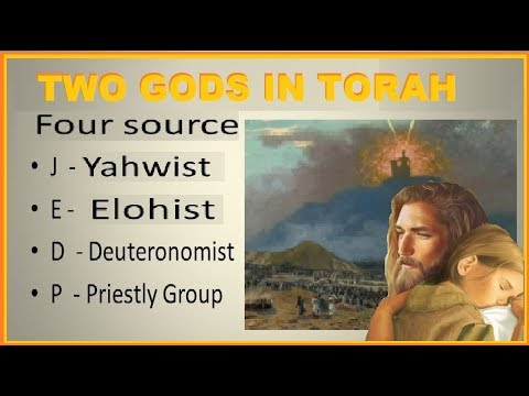 TWO Gods in EXODUS and DEUTERONOMY - HOREB not SINAI - REUEL not JETHRO