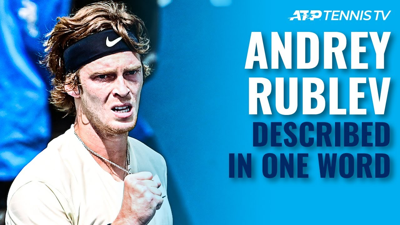 ATP Stars Describe Andrey Rublev In One Word! 🤘