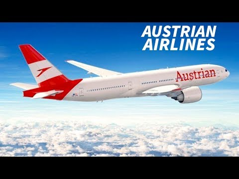 The AUSTRIAN AIRLINES Brand NEW LIVERY