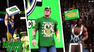 WWE Money in the Bank 2021 Full Show Simulation - WWE 2K20 Highlights