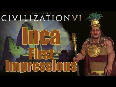 Civilization 6: First Impressions - Inca Civilization